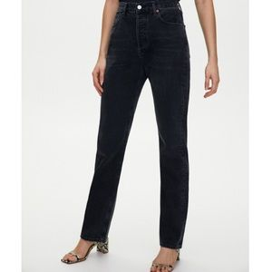 AGOLDE High-Rise Taper Jeans